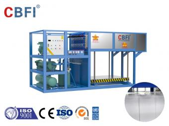 industrial automatic block ice machine